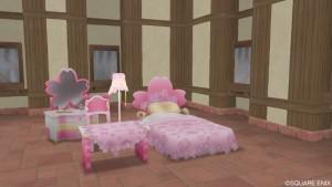 桜花シリーズの家具セット